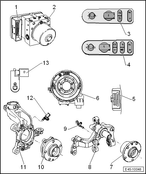SEAT Workshop Manuals > Leon Mk2 > Running gear > Brake