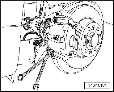 SEAT Workshop Manuals > Leon Mk2 > Running gear > Brake