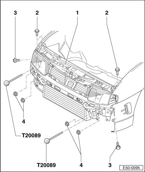 SEAT Workshop Manuals > Leon Mk2 > Body > General external
