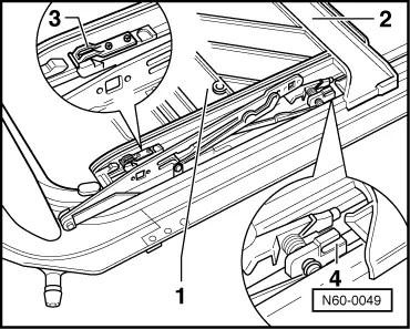 SEAT Workshop Manuals > Leon Mk2 > Body > General body
