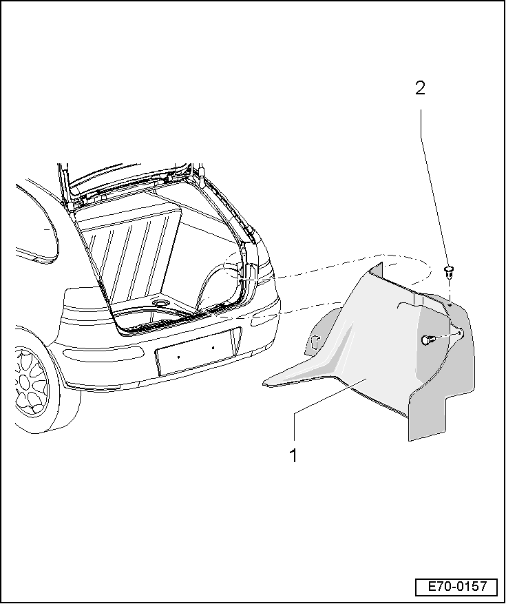 SEAT Workshop Manuals > Leon Mk2 > Body > Bodywork