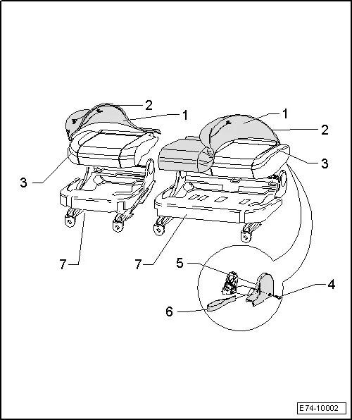 SEAT Workshop Manuals > Leon Mk2 > Body > Bodywork
