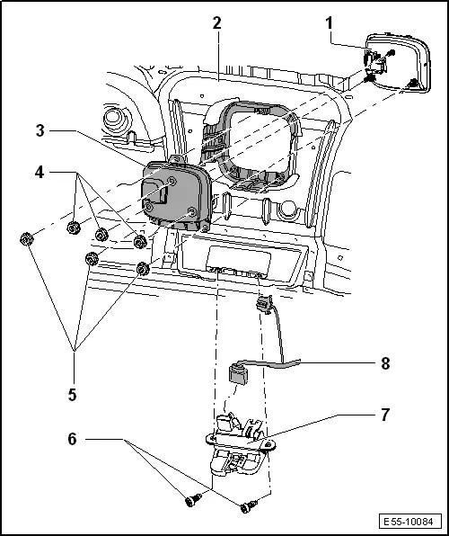 SEAT Workshop Manuals > Leon Mk2 > Body > Body, exterior