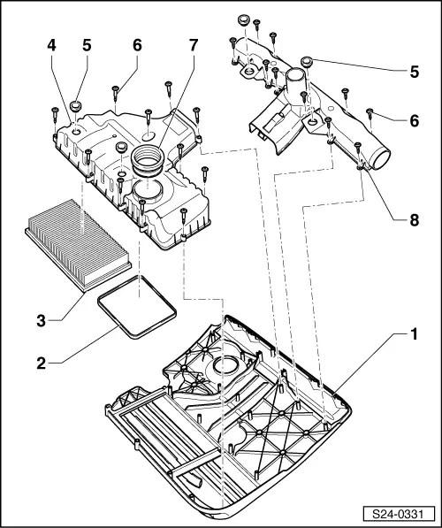 Skoda Workshop Manuals > Fabia Mk1 > Drive unit > 1.4/55