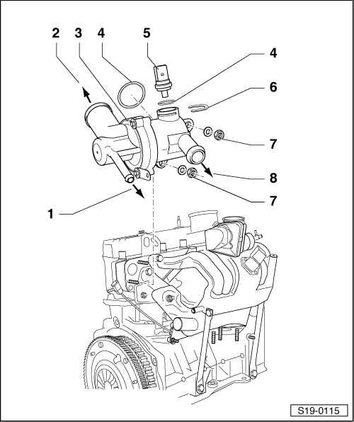 Skoda Workshop Manuals > Fabia Mk1 > Drive unit > 1.0/37