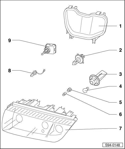 Skoda Workshop Manuals > Fabia Mk1 > Vehicle electrics