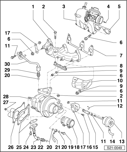 Skoda Workshop Manuals > Fabia Mk1 > Power unit > 1.4/51