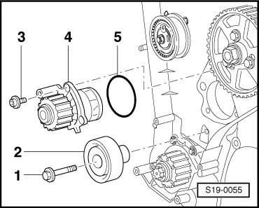 Removing_toothed_belt Car Engine Drive Belt Wiring Diagram