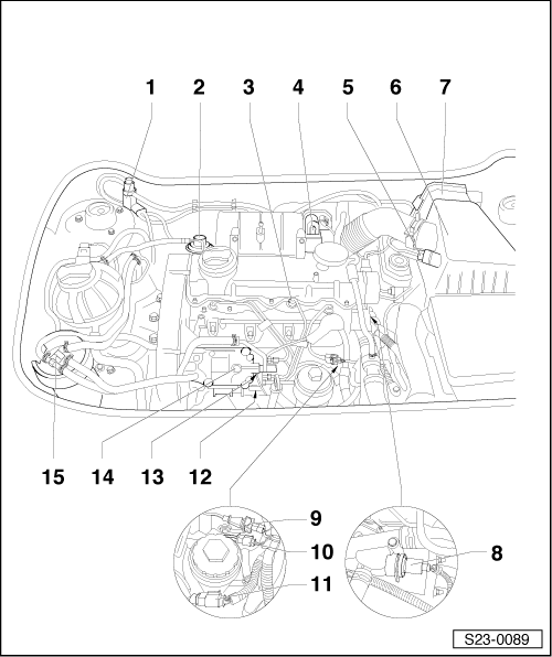 Skoda Workshop Manuals > Fabia Mk1 > Engine > 1.9/47 SDI