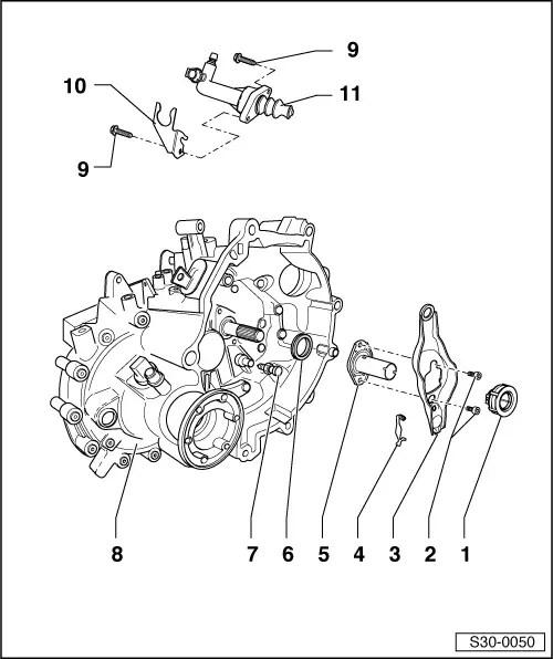 Skoda Workshop Manuals > Fabia Mk2 > Power transmission