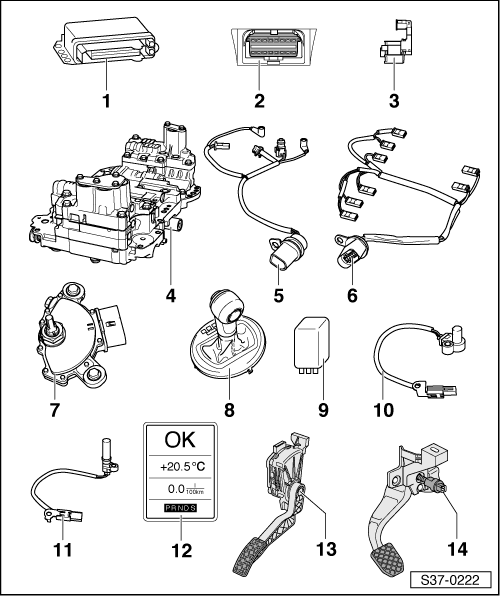Skoda Workshop Manuals > Fabia Mk2 > Power transmission
