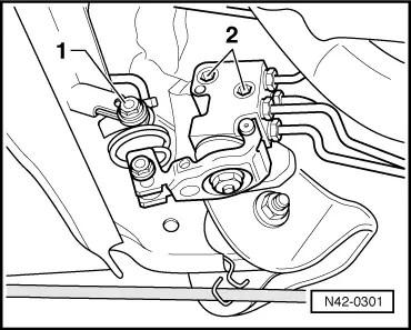 Skoda Workshop Manuals > Fabia Mk2 > Chassis > Rear