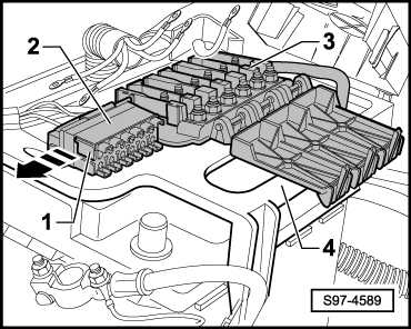Skoda Workshop Manuals > Fabia Mk2 > Vehicle electrics > Electrical System > Wiring > Fuse