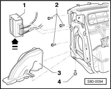 Skoda Workshop Manuals > Fabia Mk2 > Vehicle electrics