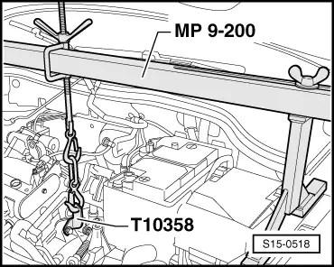 Skoda Workshop Manuals > Fabia Mk2 > Power unit > 1.6/77