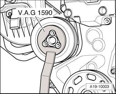 Skoda Workshop Manuals > Fabia Mk2 > Power unit > 1.6/77