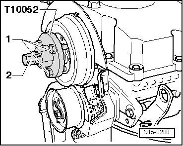 Skoda Workshop Manuals > Fabia Mk2 > Power unit > 1.2/55