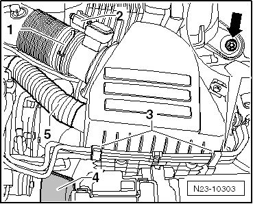 Skoda Workshop Manuals > Fabia Mk2 > Power unit > 1.2/55