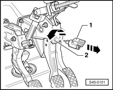 Skoda Workshop Manuals > Fabia Mk2 > Chassis > Brake