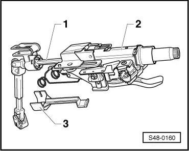 Skoda Workshop Manuals > Fabia Mk2 > Chassis > Steering