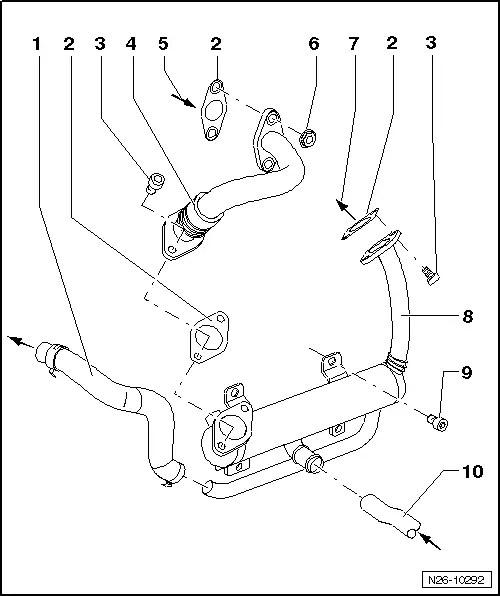 Skoda Workshop Manuals > Fabia Mk2 > Power unit > 1.4/51