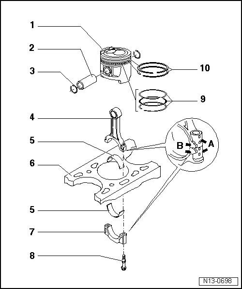 Skoda Workshop Manuals > Fabia Mk2 > Engine > 1.6/77 kW