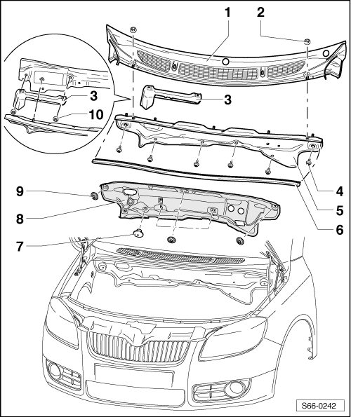 Skoda Workshop Manuals > Fabia Mk2 > Body > Body Work