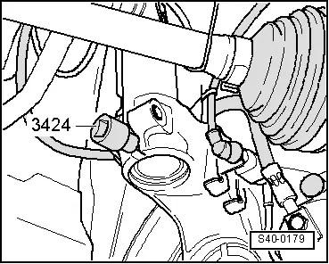 Skoda Workshop Manuals > Fabia Mk2 > Chassis > Front