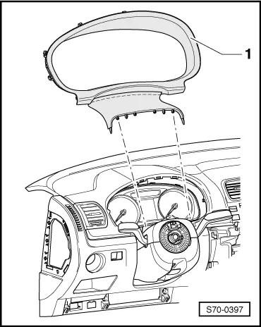 g body steering column wiring diagram mitsubishi l200 radio skoda workshop manuals > fabia mk2 work trim, noise insulation dash panel ...