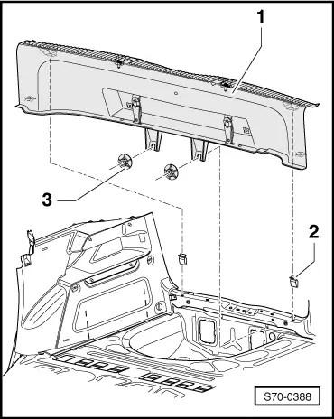 Skoda Workshop Manuals > Fabia Mk2 > Body > Body Work