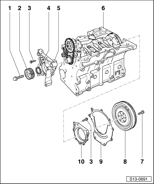 Skoda Workshop Manuals > Octavia Mk1 > Drive unit > 1.8