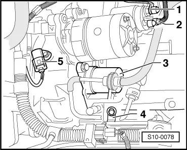Skoda Workshop Manuals > Octavia Mk1 > Drive unit > 1.4