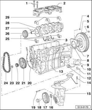 Skoda Workshop Manuals > Octavia Mk1 > Drive unit > 14