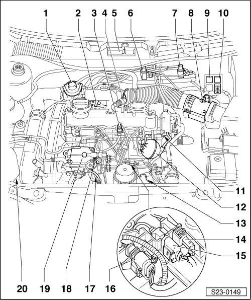 skoda felicia wiring diagram engine