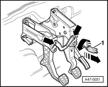 Skoda Workshop Manuals > Octavia Mk1 > Chassis > Brake