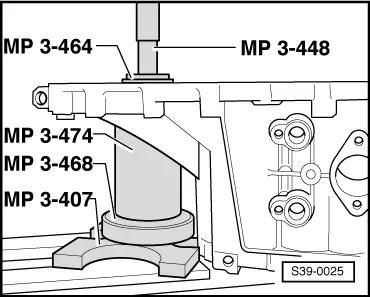 Skoda Workshop Manuals > Octavia Mk1 > Power transmission > Manual Gearbox 02J > Final drive