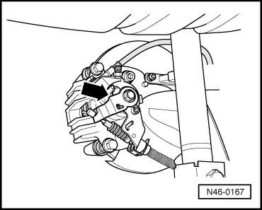 Skoda Workshop Manuals > Octavia Mk1 > Brake systems