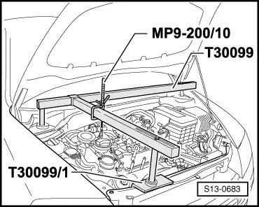 Skoda Workshop Manuals > Octavia Mk2 > Drive unit > 1.6/85 kW FSI Engine > Enginecrankshaft