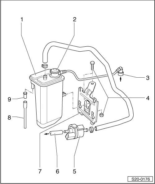 Skoda Workshop Manuals > Octavia Mk2 > Drive unit > 1.6/85