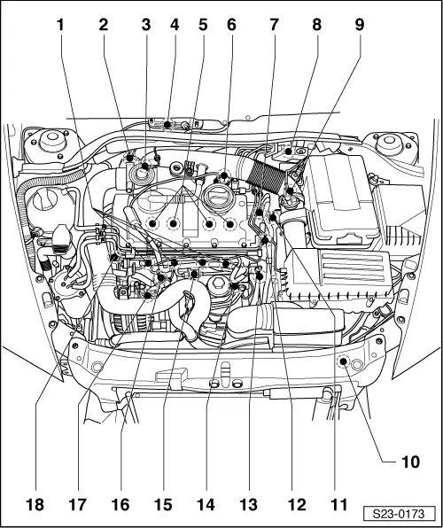 diagram of skoda octavia engine