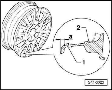 Skoda Workshop Manuals > Octavia Mk2 > Wheels, Tyres