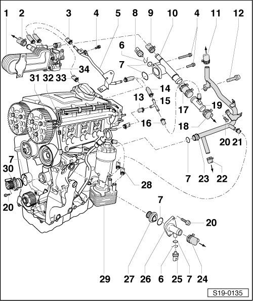 Rear Engine Diagram, Rear, Free Engine Image For User