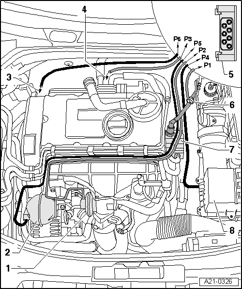 Skoda Workshop Manuals > Octavia Mk2 > Drive unit > Engine