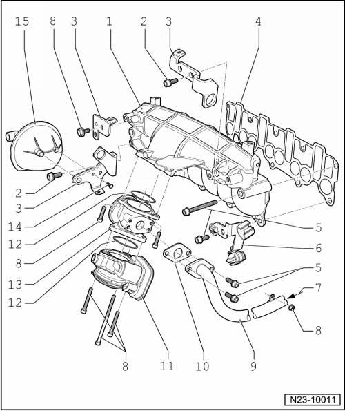 Skoda Workshop Manuals > Octavia Mk2 > Drive unit > Engine