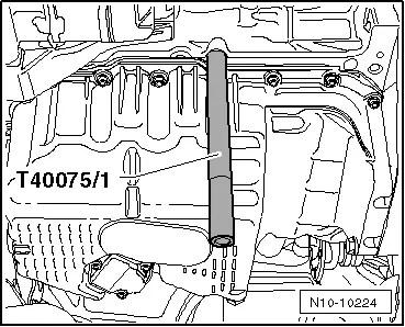 Skoda Workshop Manuals > Octavia Mk2 > Drive unit > 1.4/90