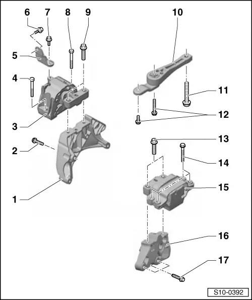 Skoda Workshop Manuals > Octavia Mk2 > Drive unit > 1.8