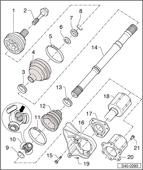 Manual Skoda Octavia 2 Kontrolky