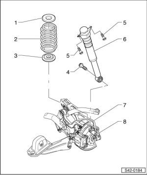 2005 Ford Escape Rear Suspension Diagram