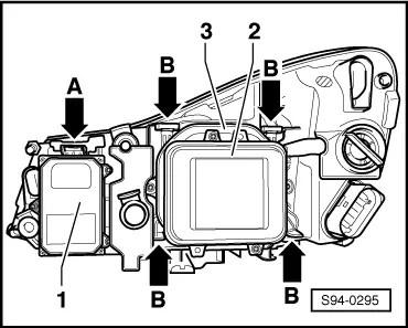 Xenon Headlight Control Module Alternator Control Module
