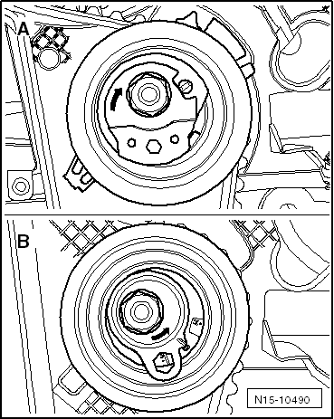 Skoda Workshop Manuals > Octavia Mk2 > Power unit > 1.6/55